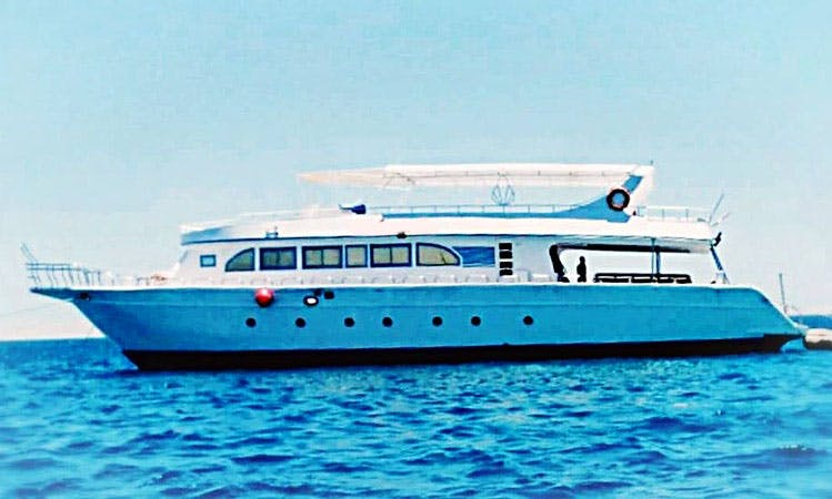 Soak up the Sun on a Motor Yacht in the Red Sea Governorate, Egypt