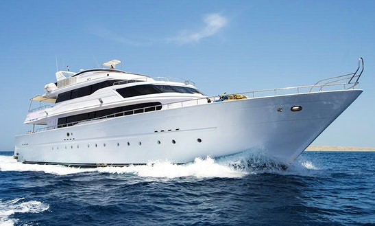 Charter 112' My Contessa Mia Power Mega Yacht In Red Sea Governorate, Egypt