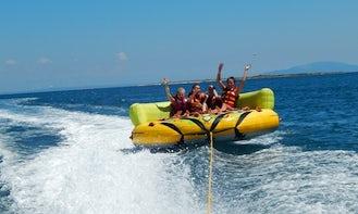 Group Tubing Fun in Arena Campsite Stupice Premantura, Medulin Riviera