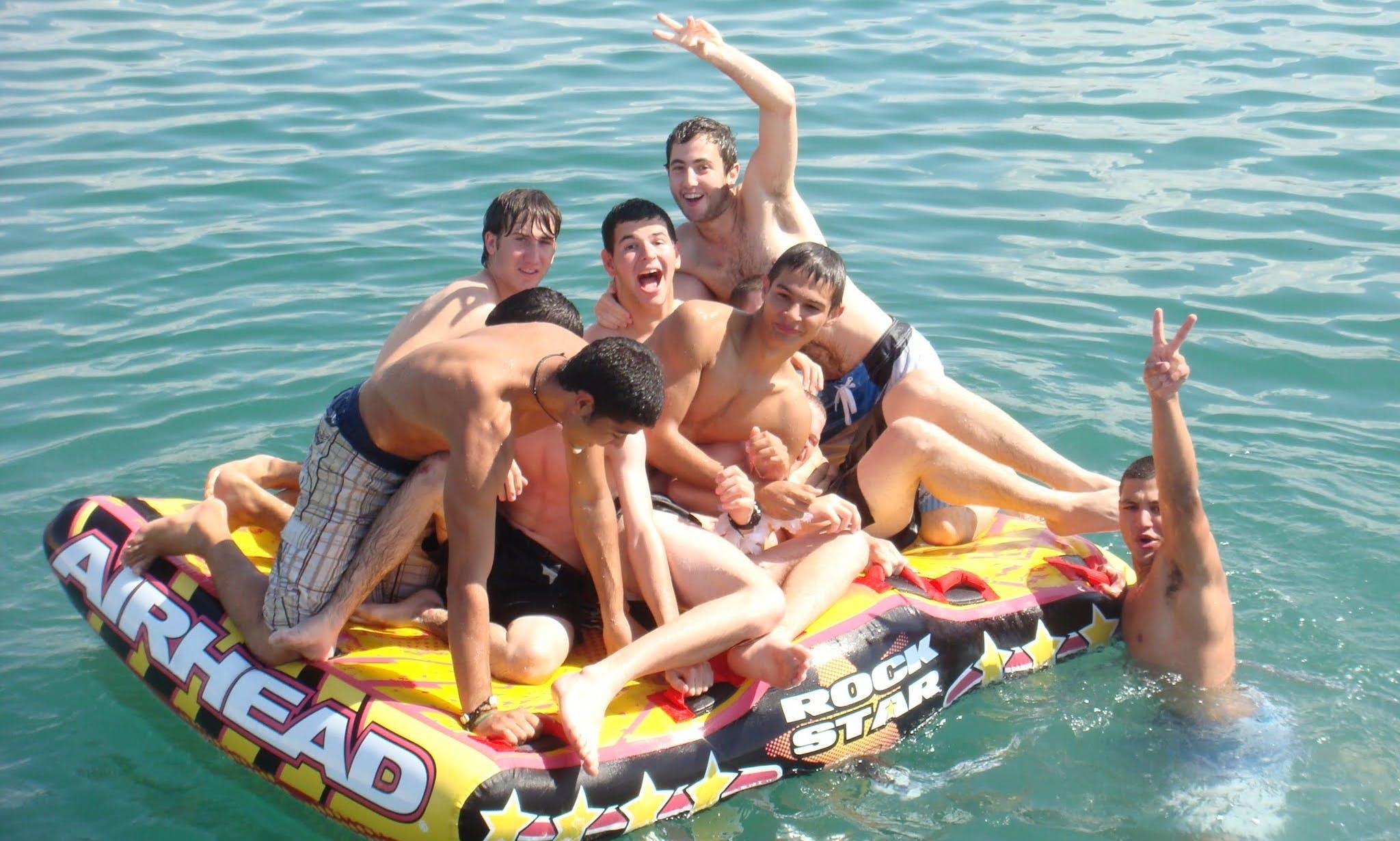 Boatparty for 40p in Tel Aviv Marina
