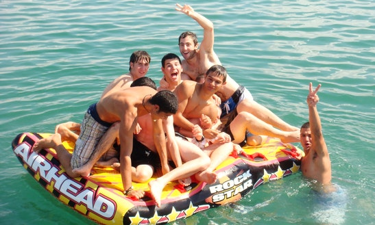 Boatparty For 40p In Tel Aviv Marina
