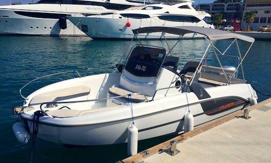 Beneteau Flyer 6.6 Spacedeck  - Deck Boat Rental In Trogir - Split - Dalmatia - Croatia