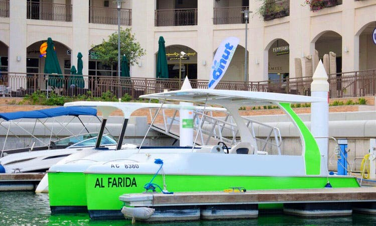 The First Solar Powered Electric Boat in Abu Dhabi