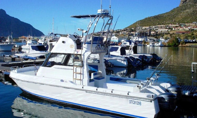 Fishing Charter and Boating Excursion in Cape Town Aboard 32' Cuddy Cabin Boat