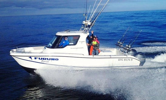 Enjoy Fishing In Cape Town, South Africa On 28' Beluga Power Catamaran
