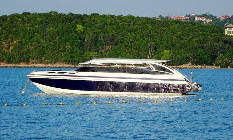 Speed boat in Tambon Ko Tao