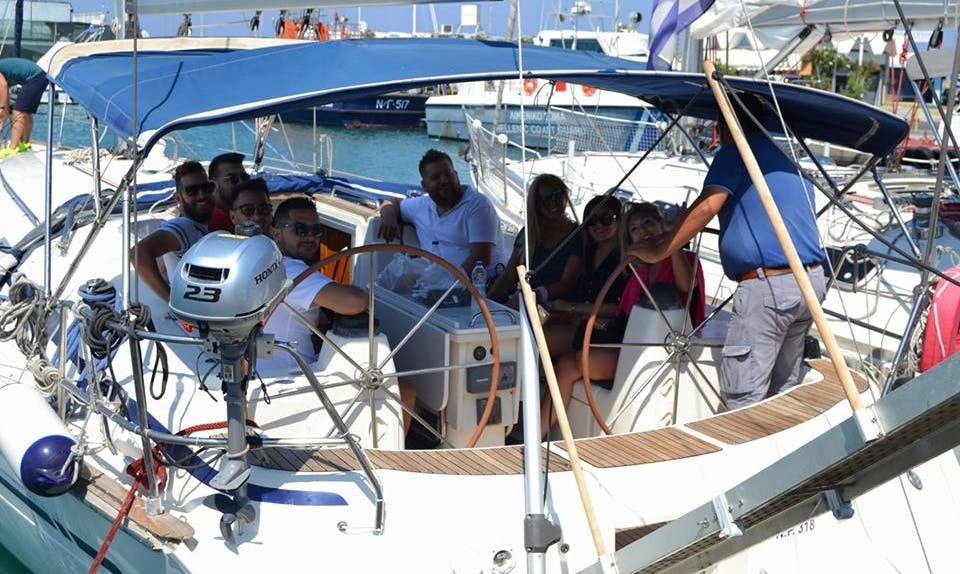 44' Charter a Cruising Monohull for 10 people in Rodos, Greece