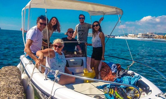 Center Console Boat Rental In Pollensa, Spain