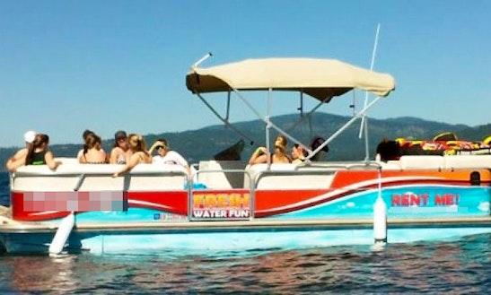 Pontoon Boat Rental On Lake Coeur D'alene