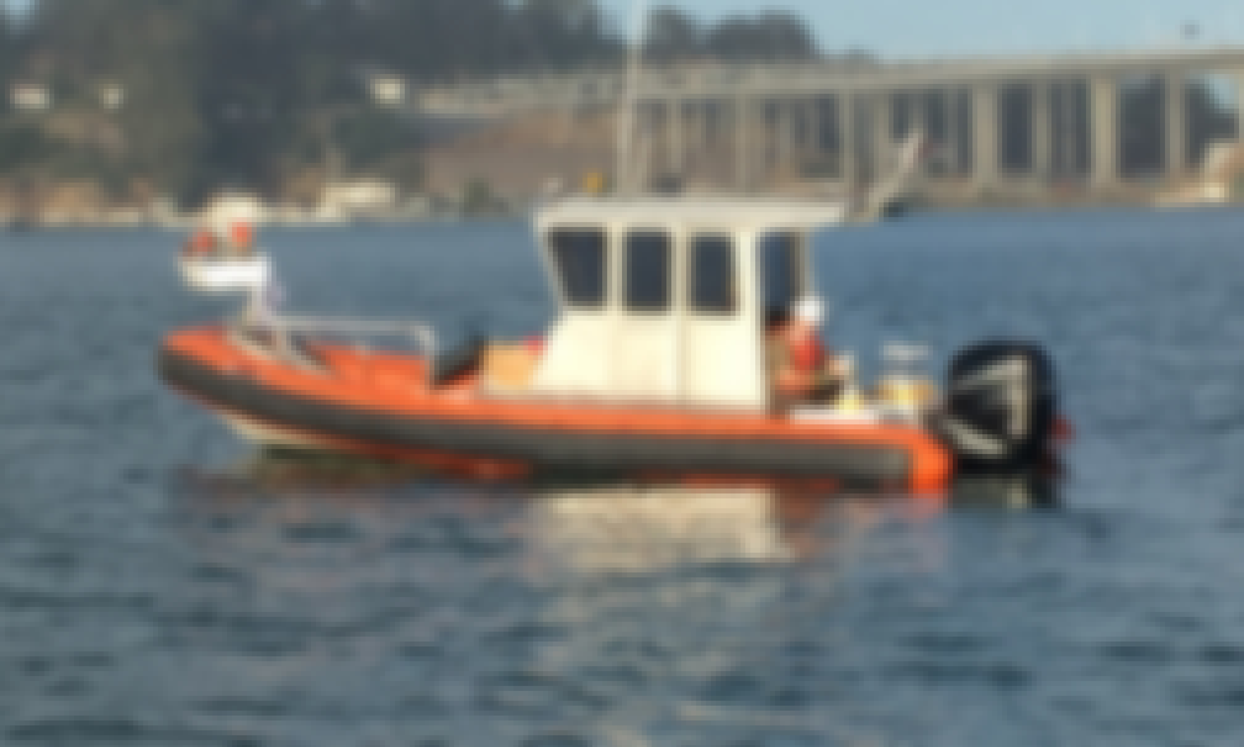 """Rent 27ft """"Tango"""" Fletcher Inflatable Boat In San Francisco (Captained Only)"""