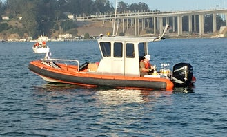 Rent 27ft Fletcher Inflatable Boat in San Francisco California