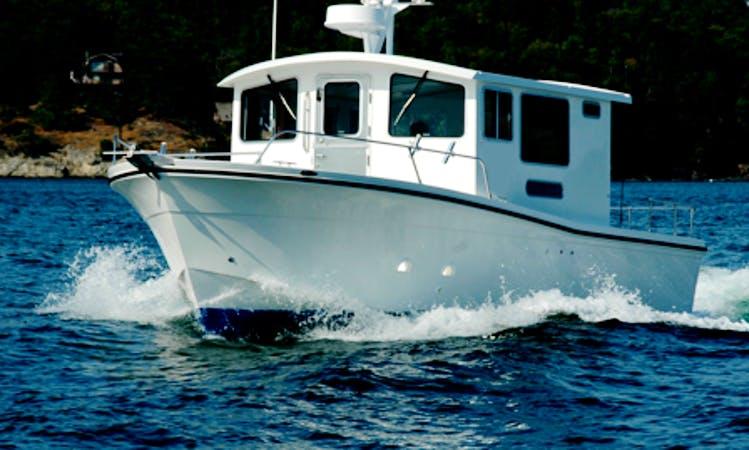 32' Cuddy Cabin Charter in Eastsound, Washington