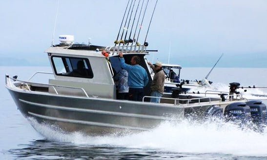 27' Aluminum Fishing Charter In Oak Bay