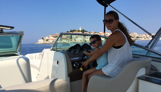 Deck Boat Rental In Split