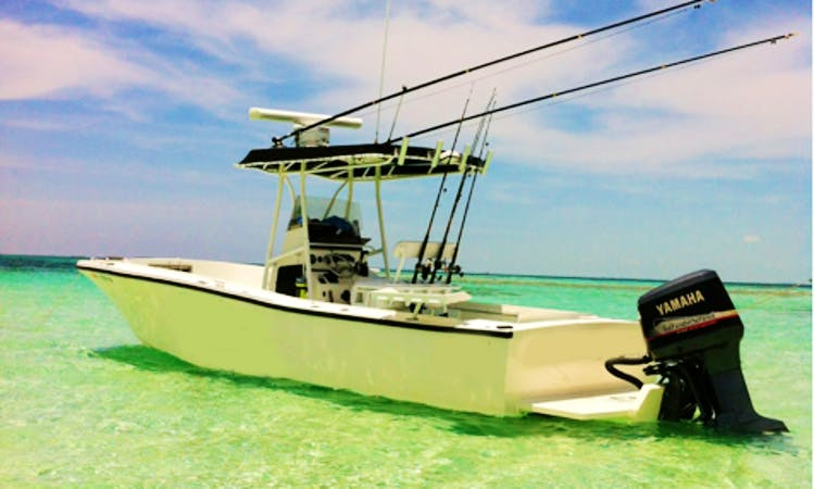 25ft Mako Center Console Boat Fishing Charter In Ponce Inlet, Florida