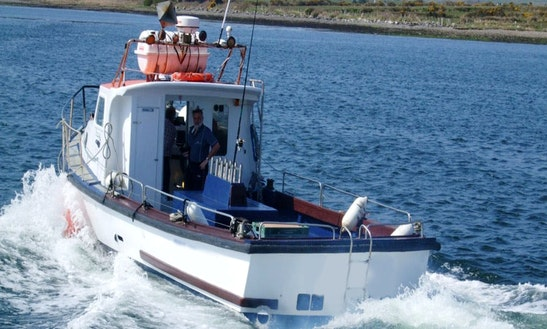 36' Ocean Tramp Fishing Charter In Kerry County
