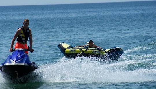 Enjoy Tubing In Sunny Beach, Bulgaria
