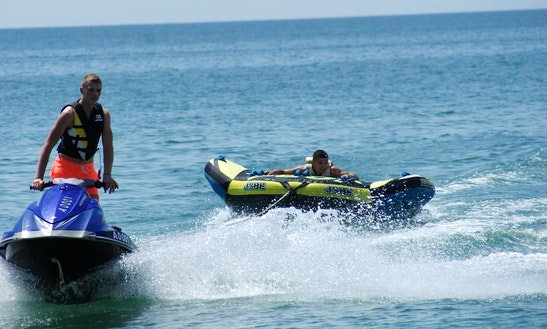 Enjoy Tubing In Sunny Beach, Bulgaria