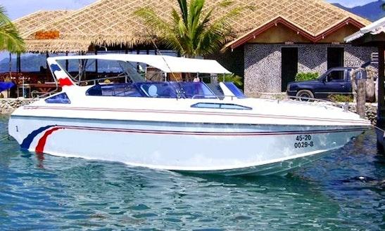 Charter Cuddy Cabin Speedboat In Koh Chang, Thailand