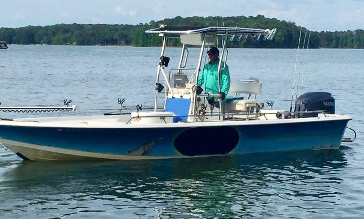 24' Sea Pro Bay Boat Guided Fishing Boat in Georgia