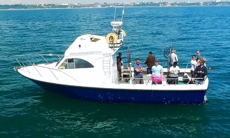Enjoy Fishing in Poole, UK with Captain Andy