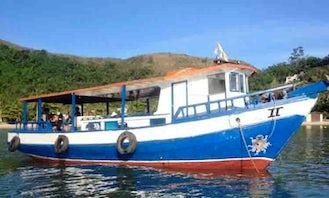 Fishing Tour in São Sebastião, Brazil on Barba Rossa II Trawler