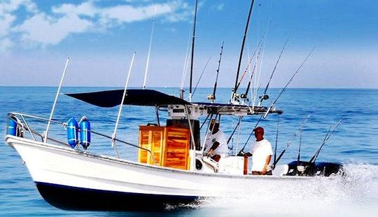 28' Super Panga Boat In Puerto Vallarta
