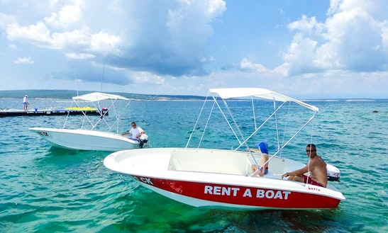 Rent A 15' Dinghy In Selce, Croatia