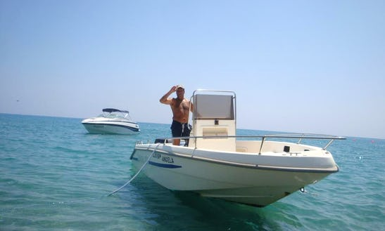 Charter Angela Center Console In Pissouri Bay, Cyprus