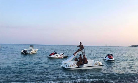 Rent A Paddle Boat In Pissouri Bay, Cyprus