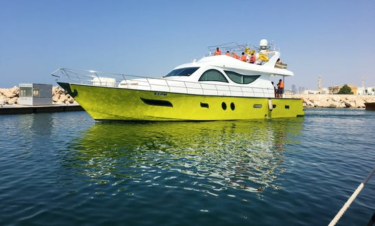 85 Feet Luxury Yacht For 40 Pax In Jumeirah Dubai