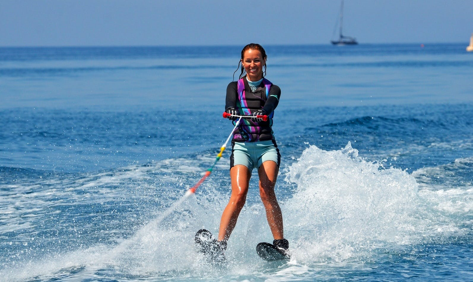Enjoy Water Skiing in Pissouri Bay, Cyprus