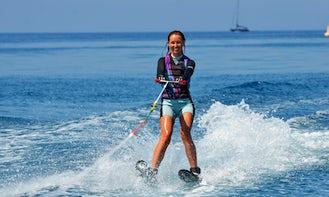 Enjoy Water Skiing in Pissouri Bay, Cyprus