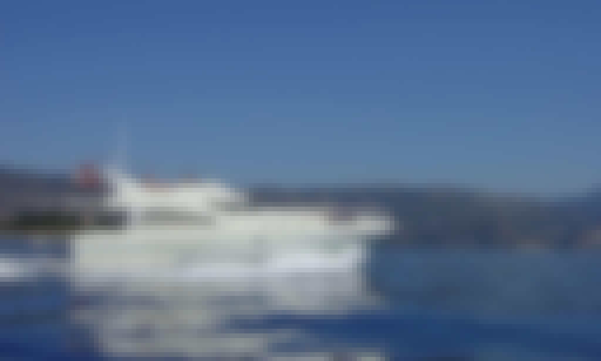 Motor Yacht rental in Menton, France for sleep aboard
