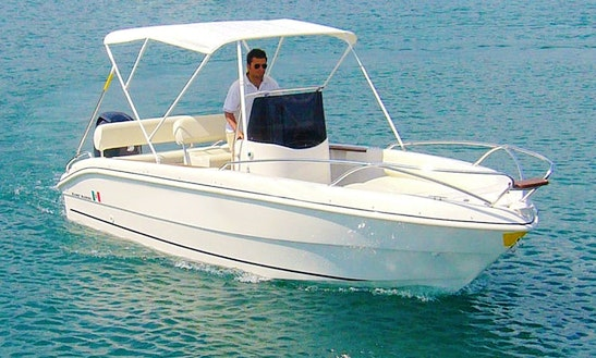Rent A 16' Manò Brava Center Console In Lombardia, Italy