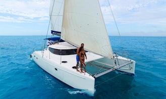 Fountain Pajot 40ft Cruising Catamaran rental in Cancún