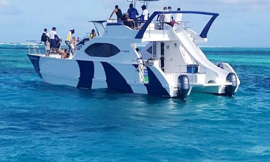Power Mega Yacht In Punta Cana