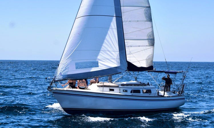 "Rent 30ft ""Chica"" Sailboat In Cabo San Lucas, Mexico"
