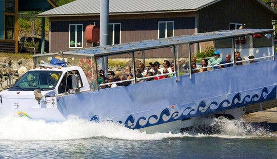 Amphibian Duck Tour Boat In Ketchikan
