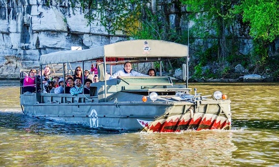 Amphibious Tours In Chattanooga, Tennessee
