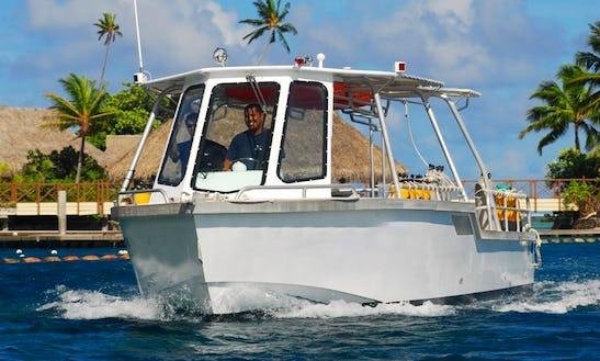Boat Dive In Tahiti Island