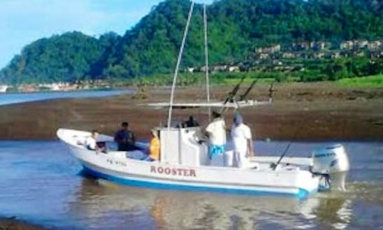 Have An Amazing Fishing In Jaco, Costa Rica On The 28' Center Console Charter For Up To 5 Persons