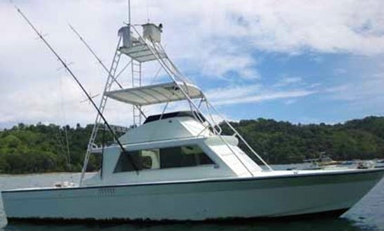 Book A Great Fishing Trip In Jaco, Costa Rica On 38' Shot On Sport Fisherman