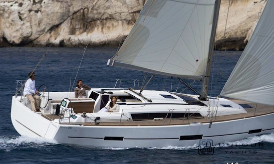 Dufour 410 Grand Large Charter In Mallorca And In Gran Canaria