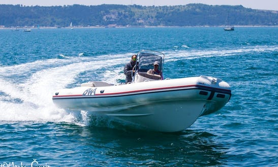 Rent The Bwa Sport 26 Gt Inflatable Boat With Honda 250 Engine In Zadar, Croatia