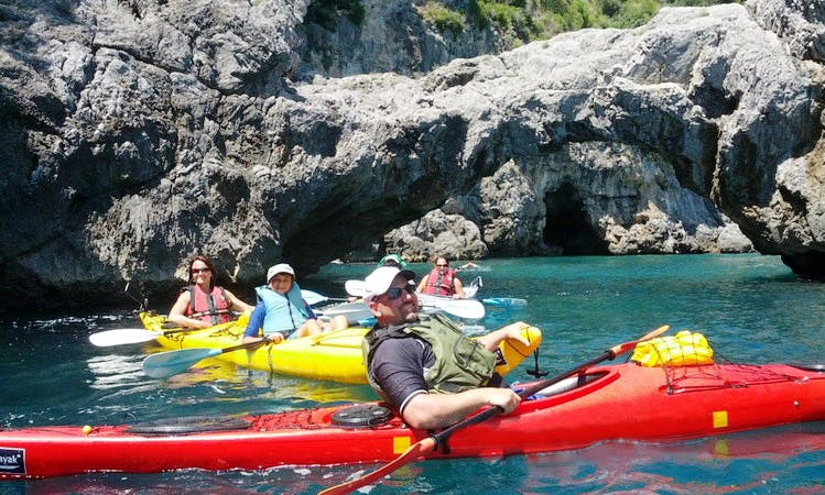 Tandem Kayak Tours on Amalfi Coast (Guided Tours)