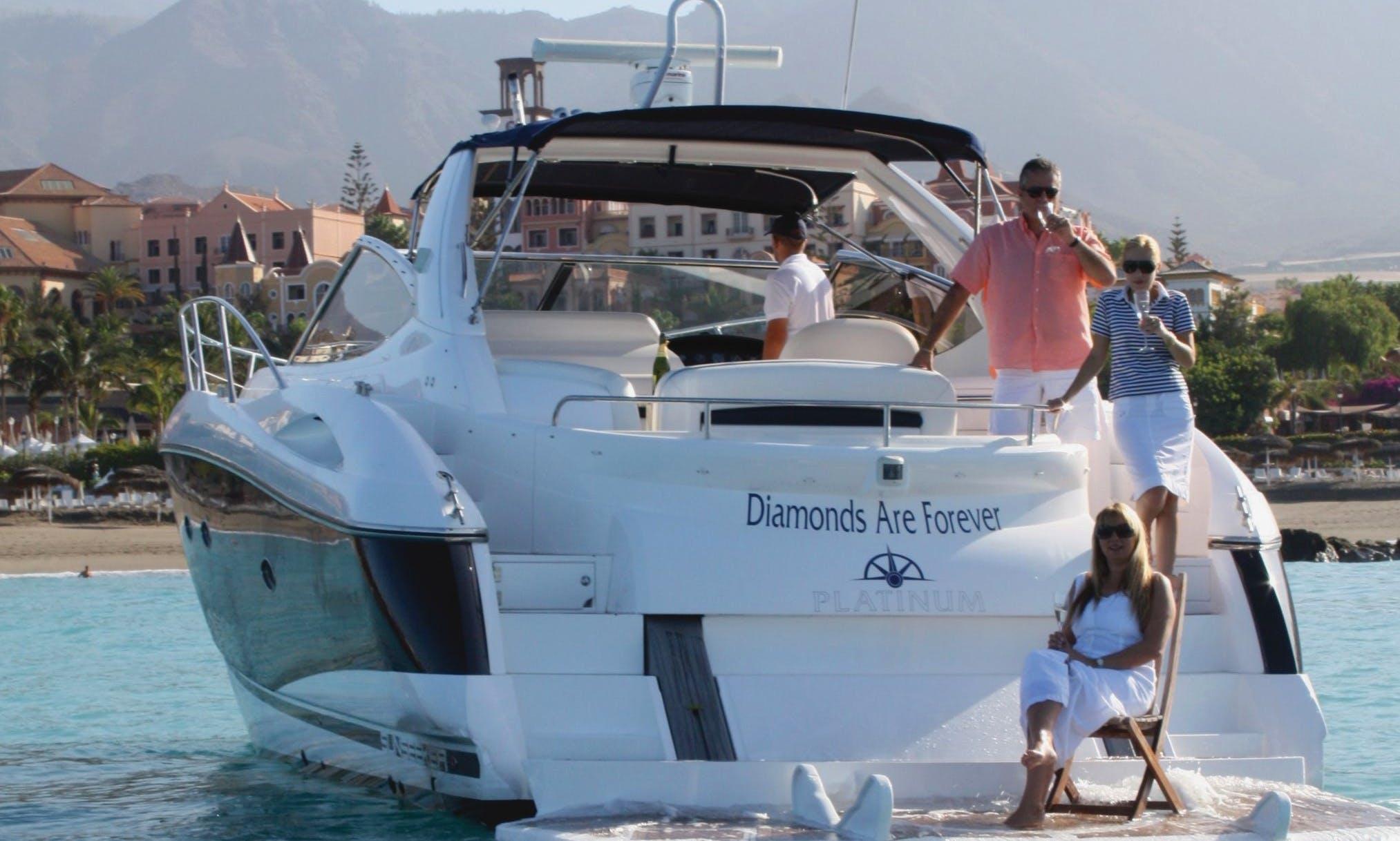 Luxury Private Sunseeker Porto Fino 46 - Charter in Costa Adeje - Pontoon 8