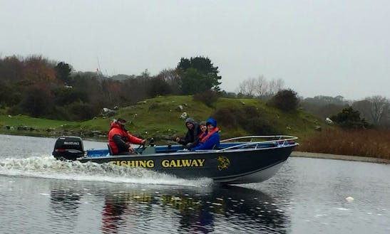 Catch Fish In Galway, Ireland On Jon Boat