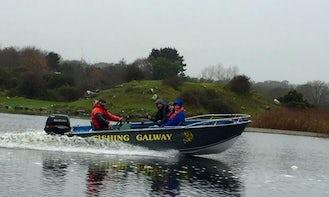 Catch Fish in Galway, Ireland on Jon Boat