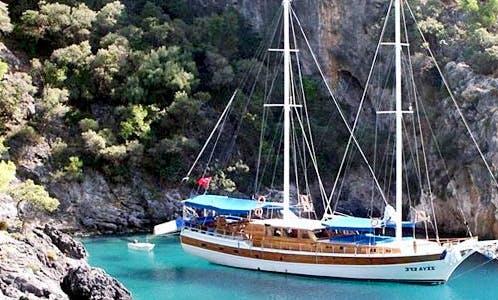 100 person Gulet for charter in Muğla, Turkey